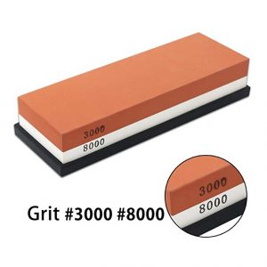 BearMoo Whetstone 2-IN-1 Sharpening Stone 3000/8000