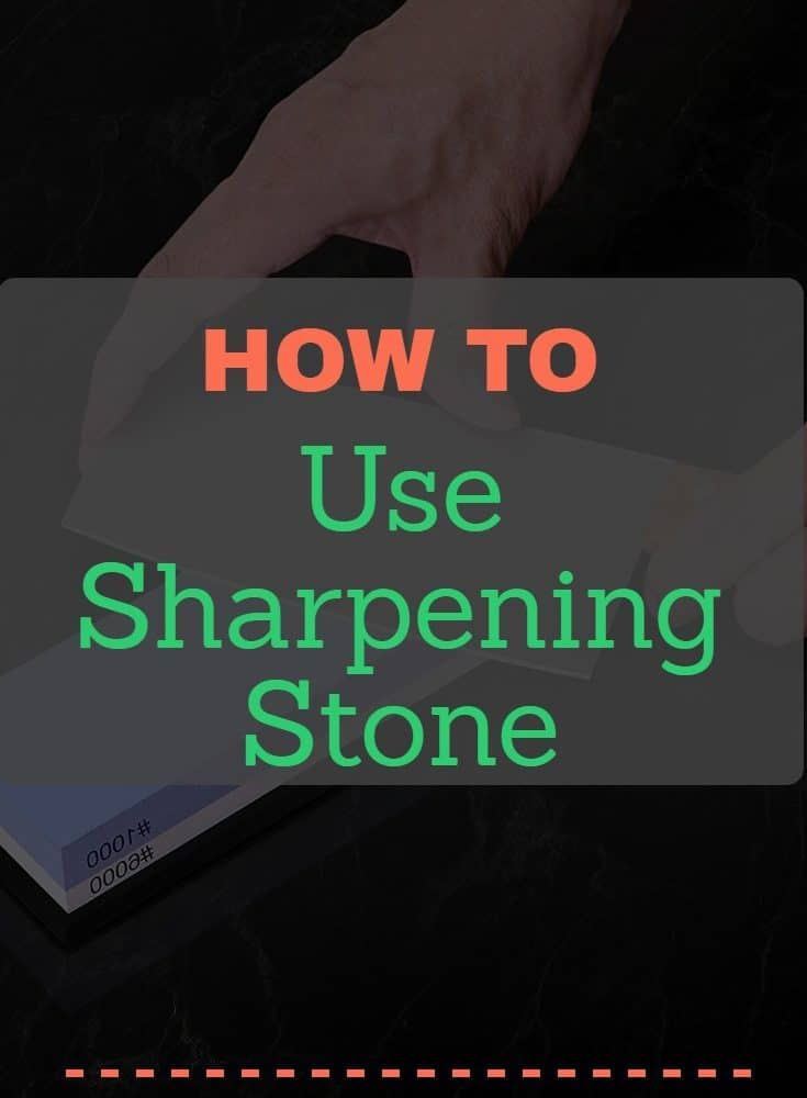 How To Use Sharpening Stone(ADVANCED GUIDE)