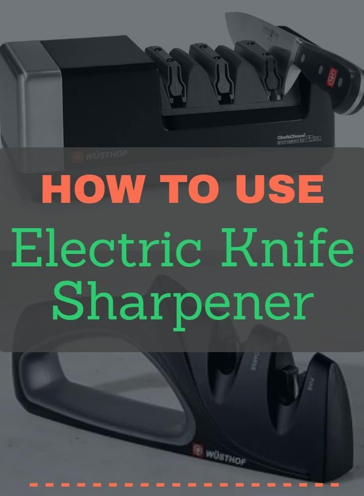 Step by Step Instructions for Using an Electric Knife Sharpener